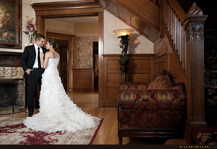 joliet patrick haley mansion wedding