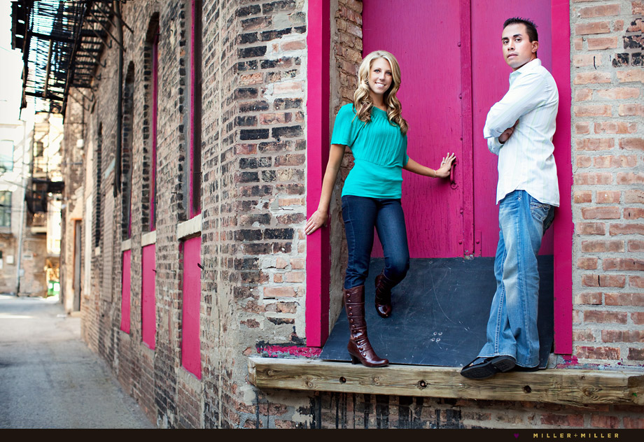 naperville high-fashion engagement photographer