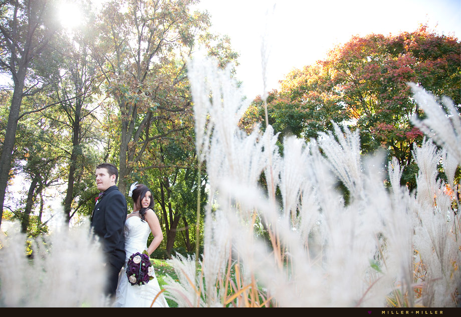 beautiful fall wedding in illinois photography