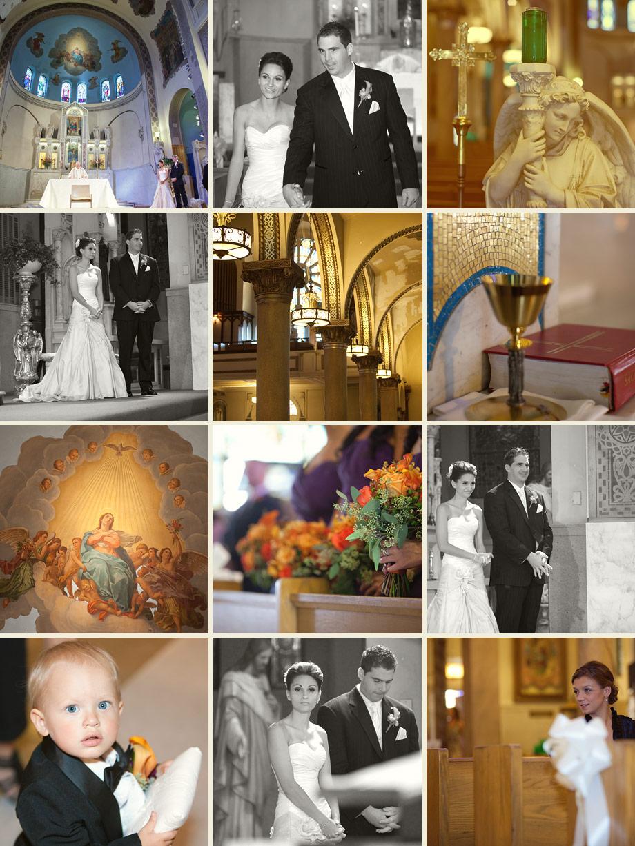 chicago catholic church wedding photography
