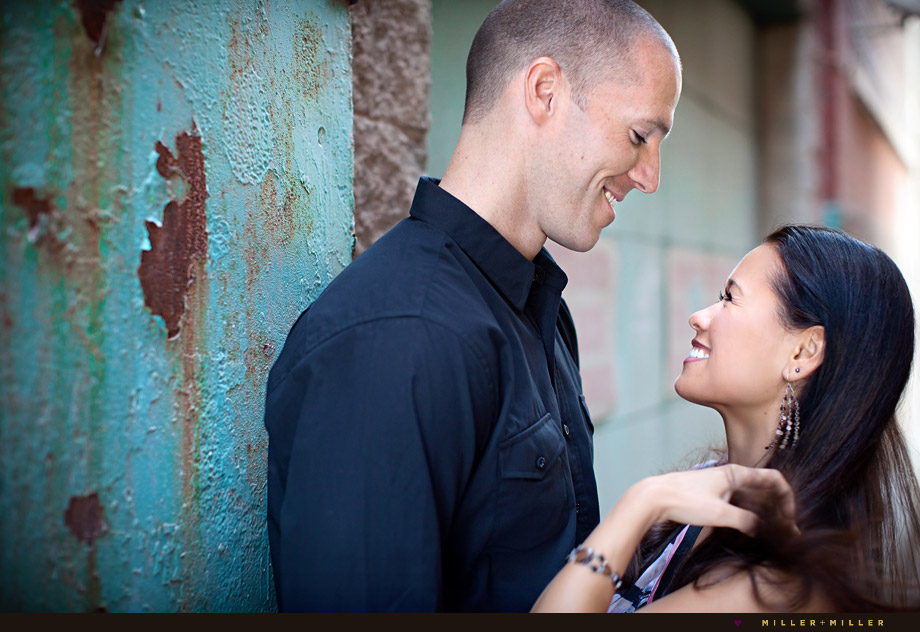 colorful chicago engagement photography