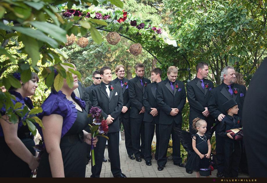 gothic vintage wedding