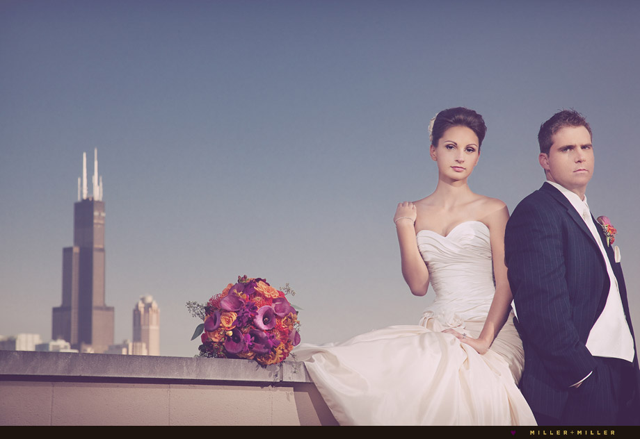 high-fashion wedding photographers chicago
