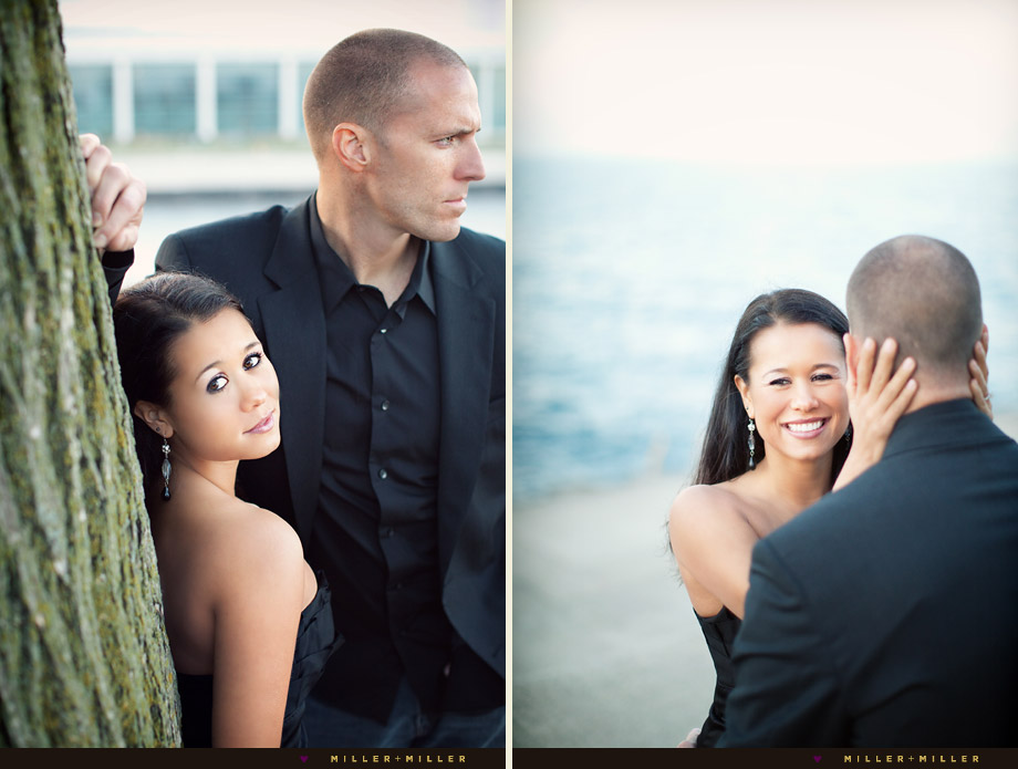 modern chicago engagement photographers