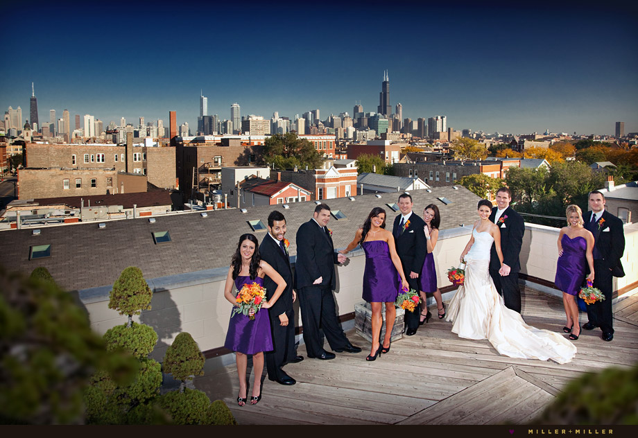 modern chicago wedding photography