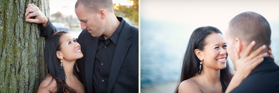stylish chicago engagement photographer