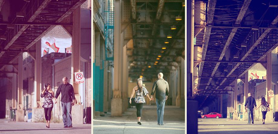 urban chicago engagement photographer