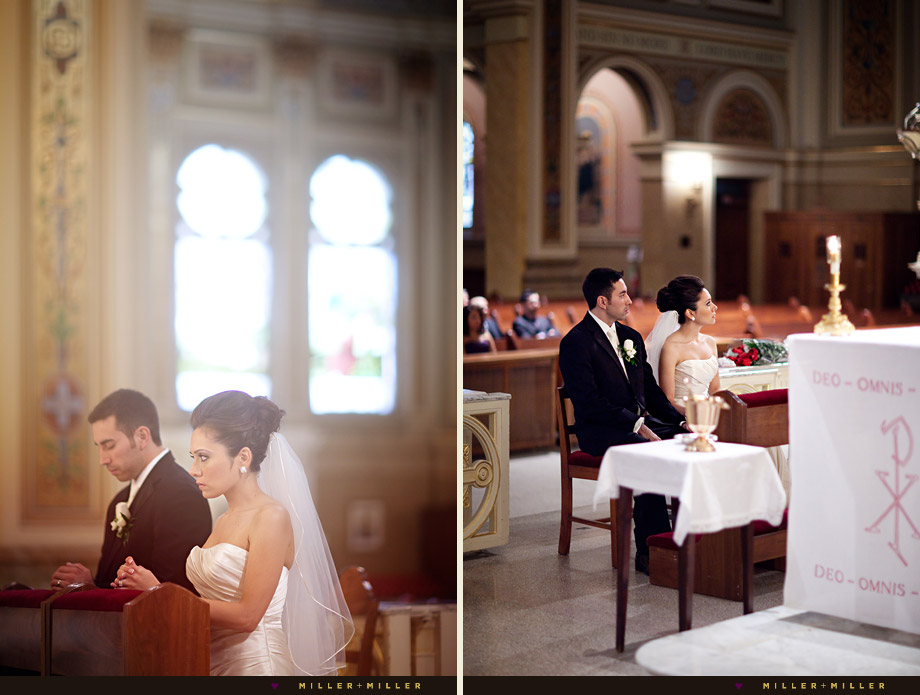 elegant church wedding evanston