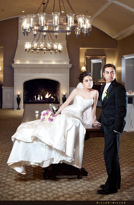 elegant winter wedding evanston