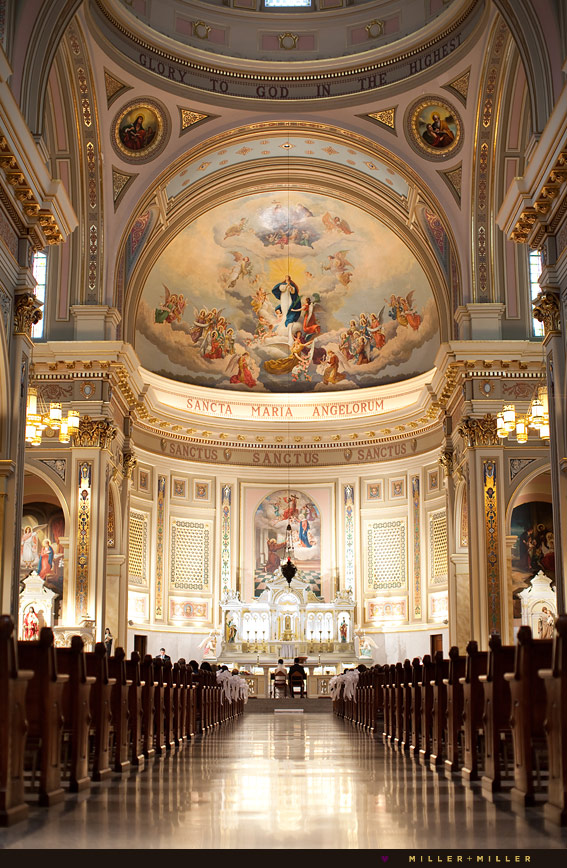 holy name cathedral church wedding