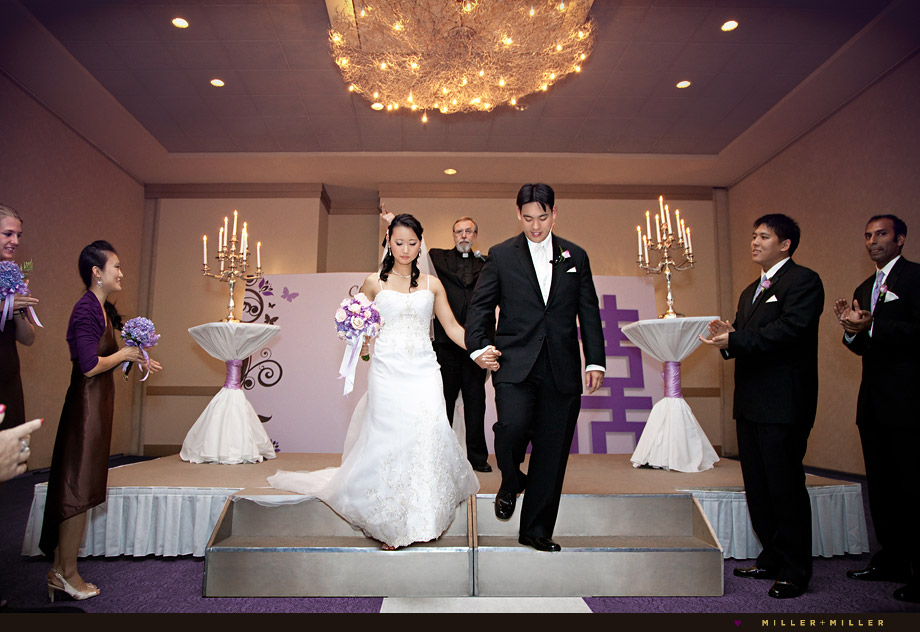 Modern Wedding Ceremony Illinois
