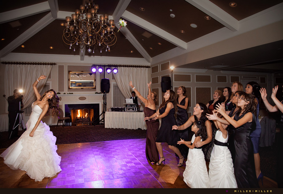 wedding st charles private golf club