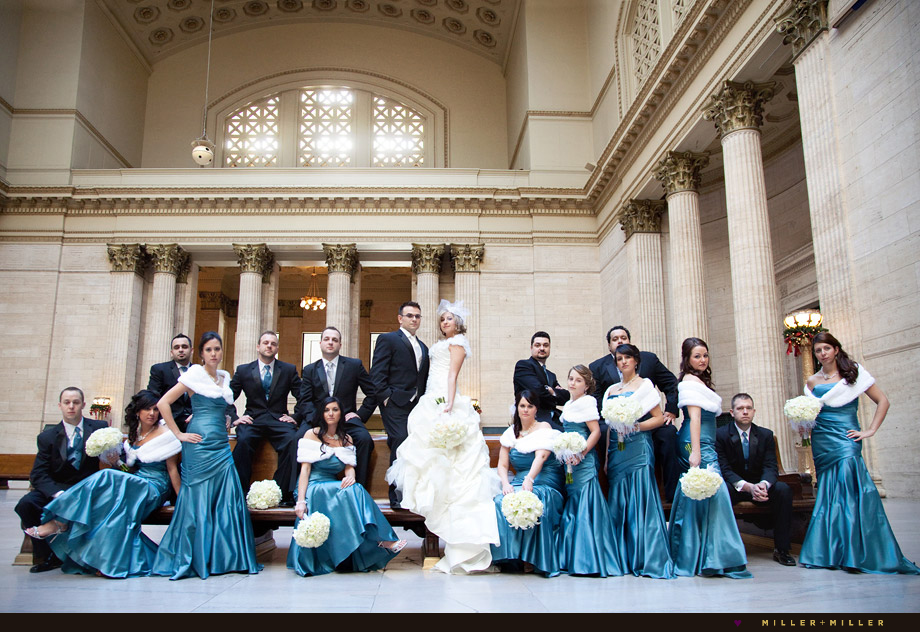 chicago field museum wedding photography