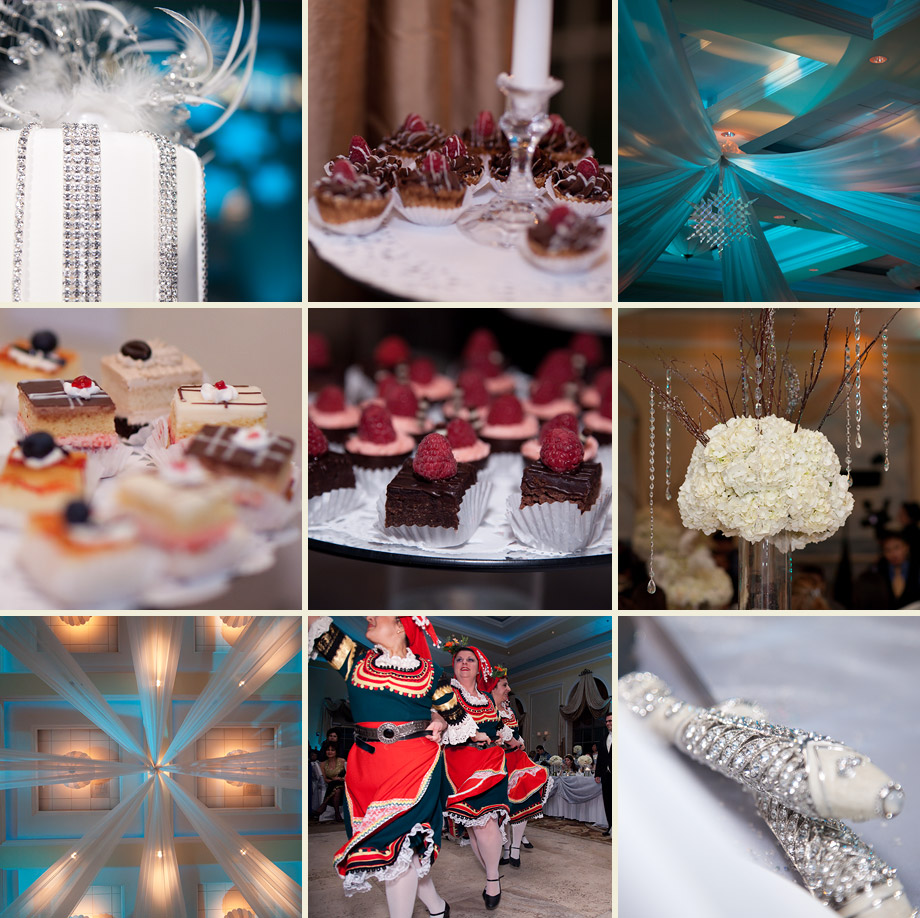 elegant winter wedding