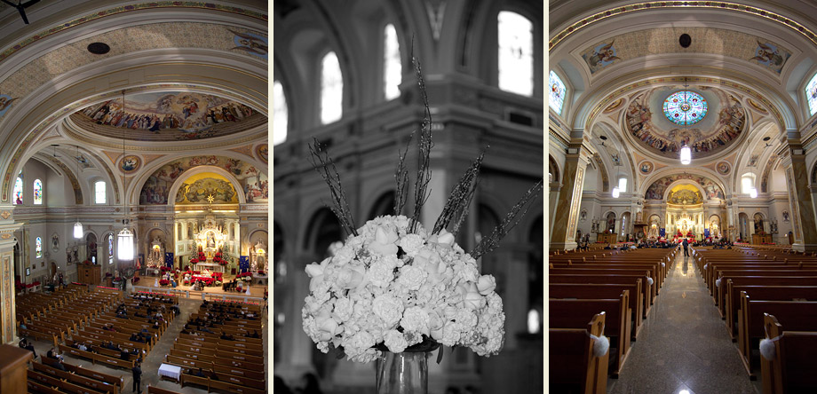 historic downtown cathedral ceremony venue