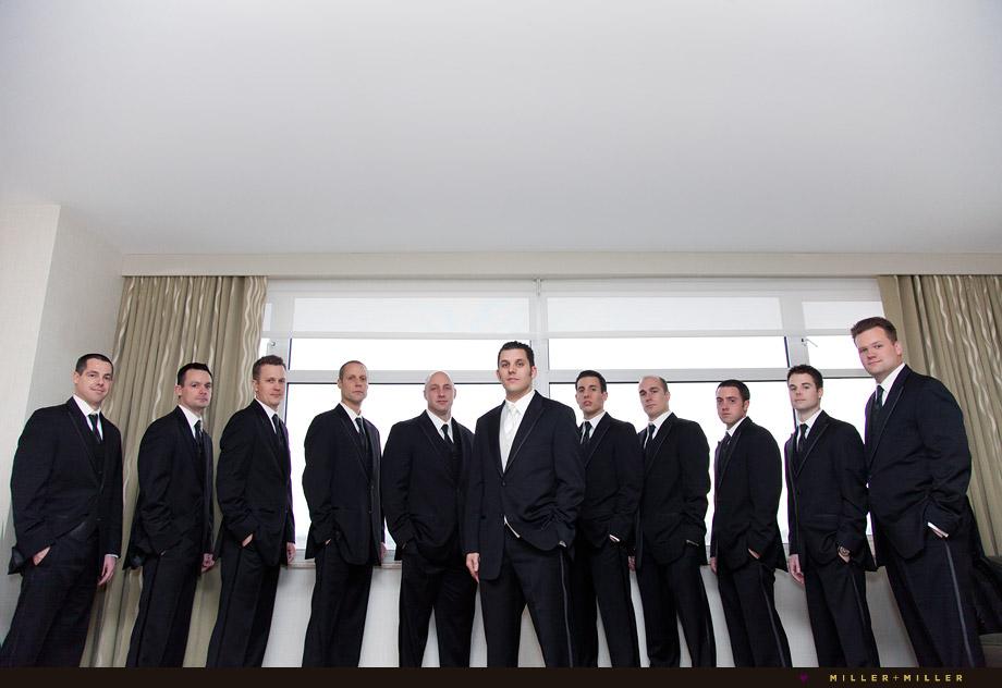 lombard Westin hotel groomsmen