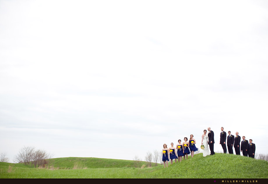 creative wedding photographer Illinois