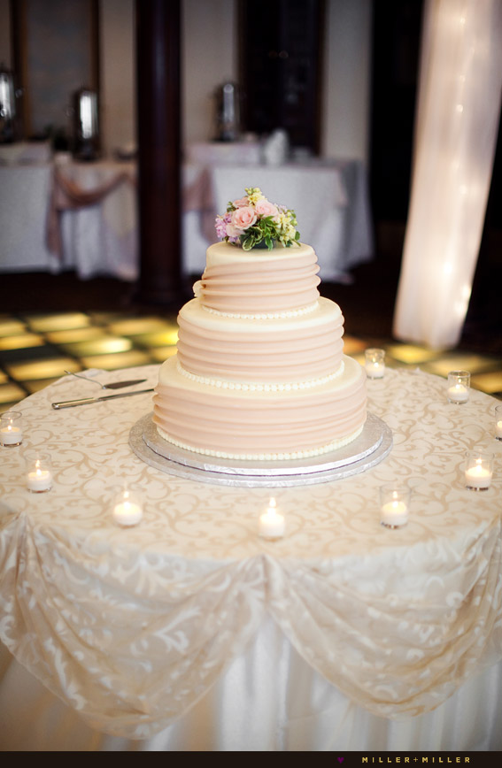 rose ivory cream cake victorian