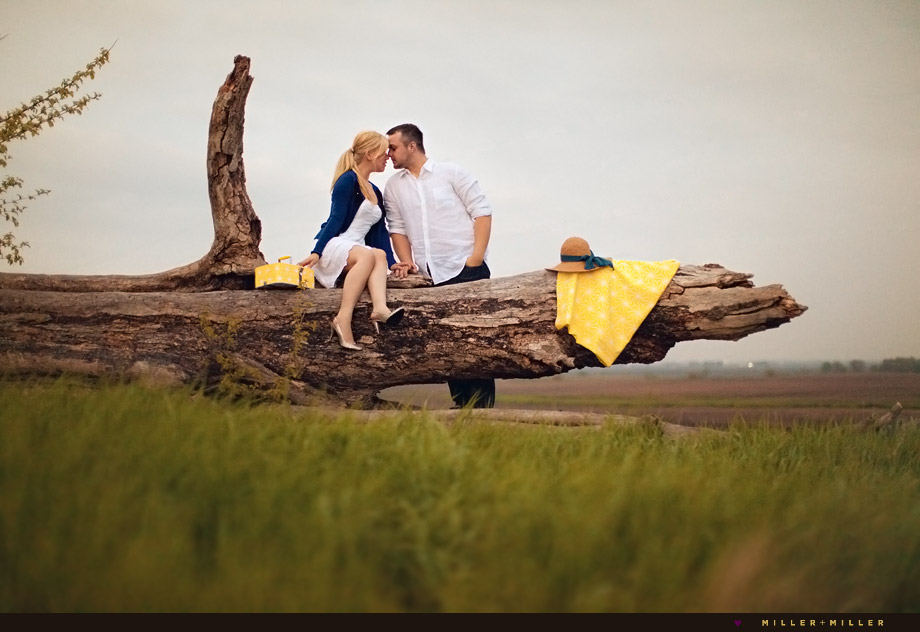 artistic chicago engagement photography