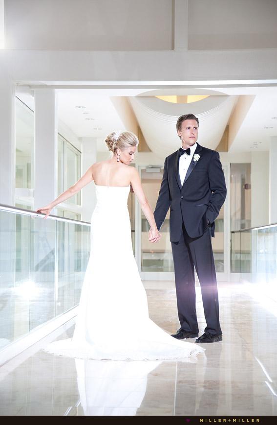 chicago dramatic wedding photographer