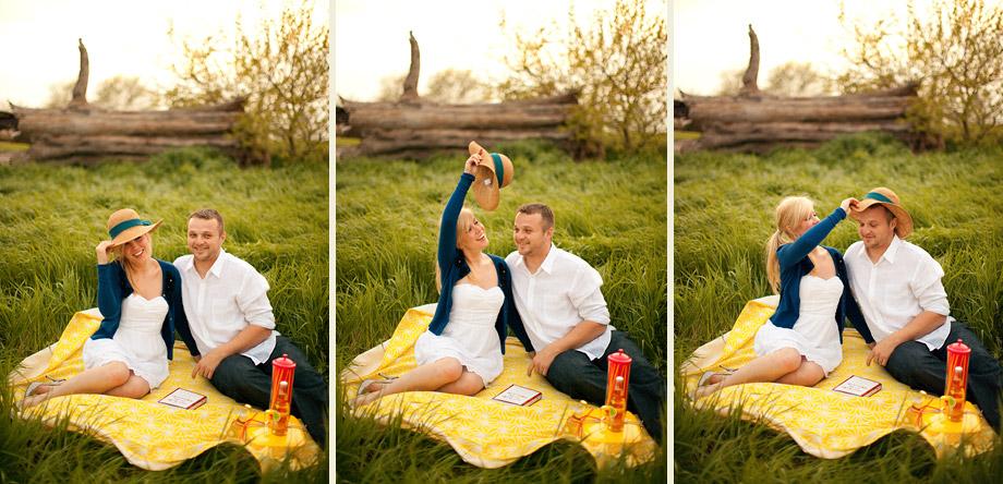 fun flirty picnicking grassy field il