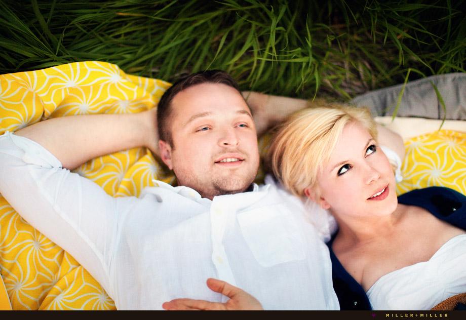 illinois engagement photography picnic