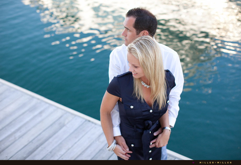 chicago dock engagement photography