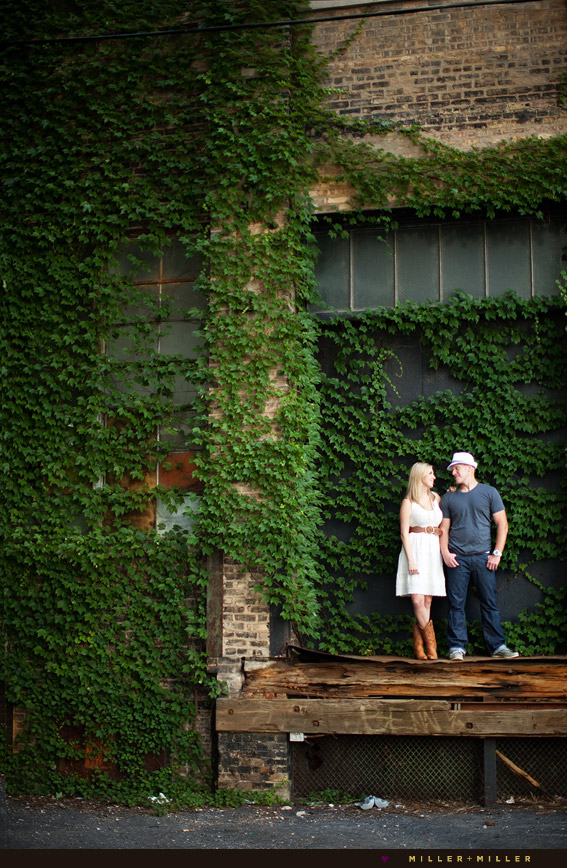 chicago green ivy wall