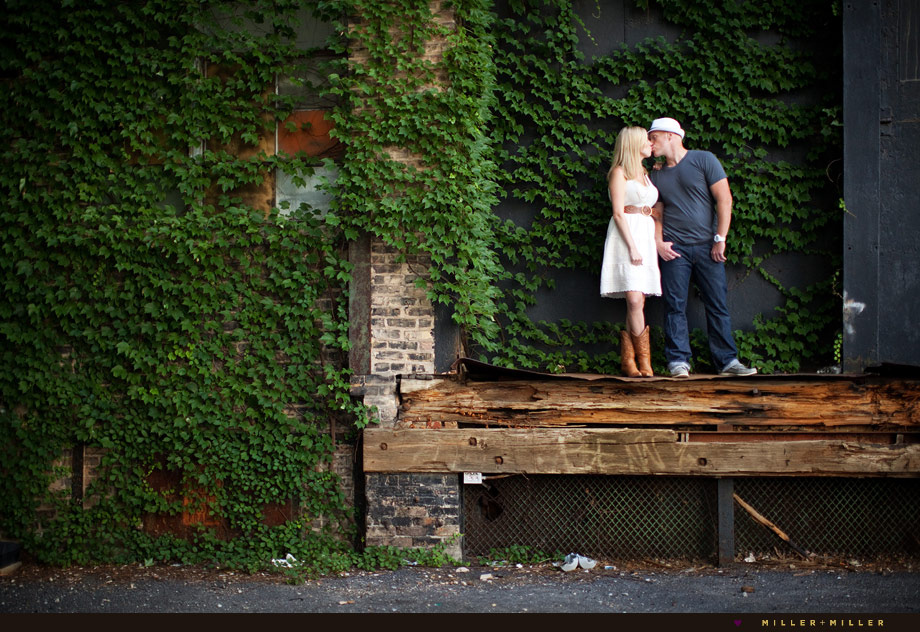 ivy wall chicago engagement