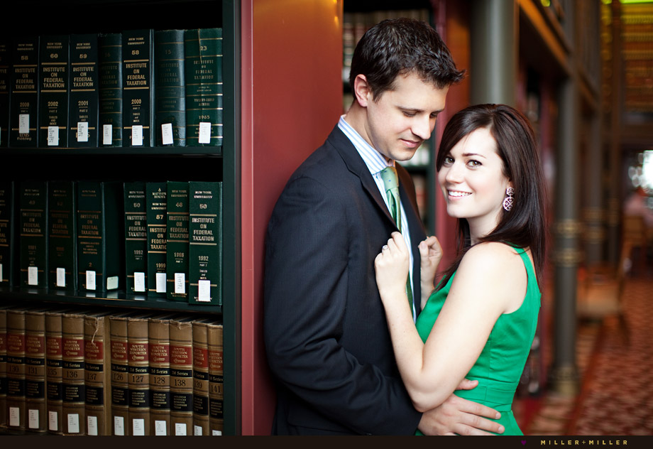 library engagement photography