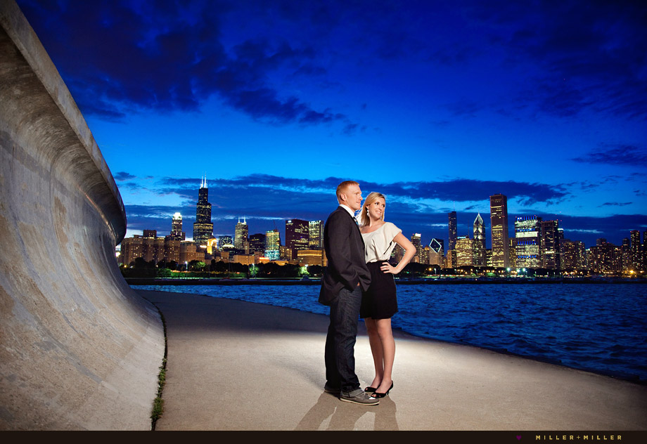 portraits by chicago skyline