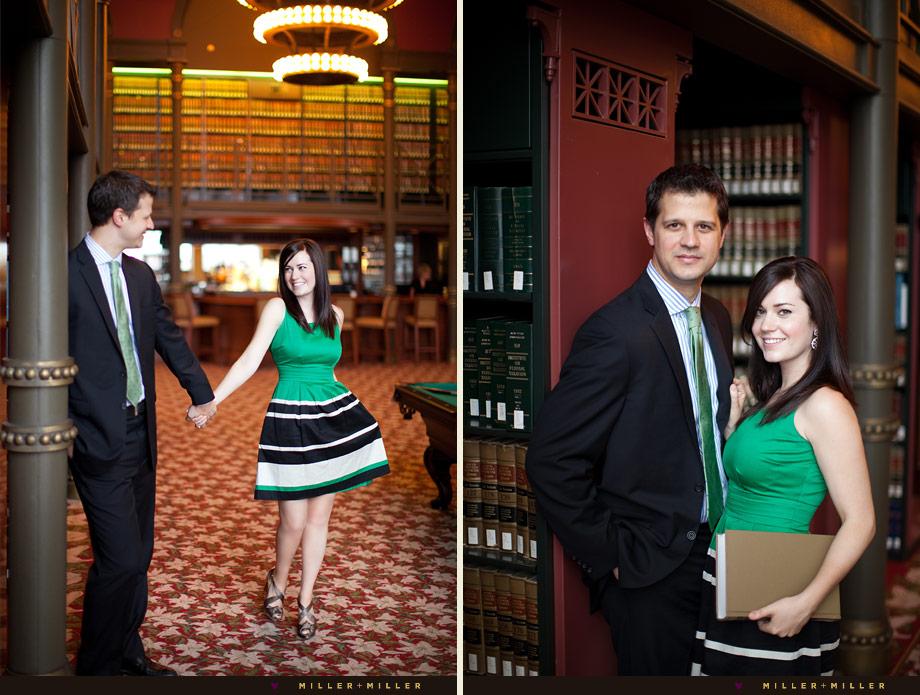 stylish indoor couple portraits