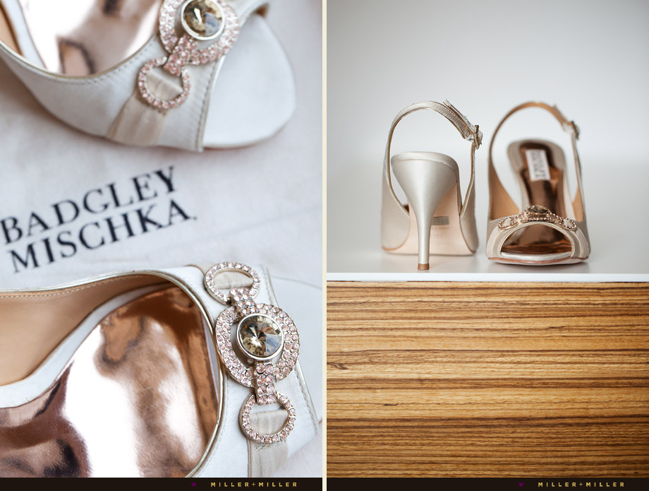 high-fashion wedding pictures