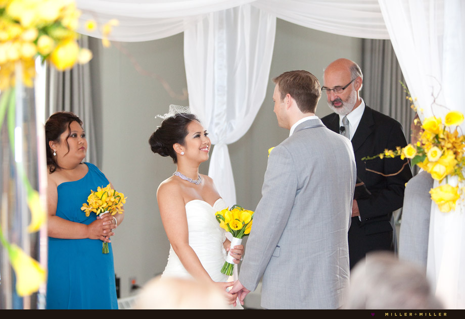 modern hotel indoor ceremony