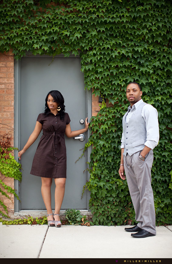 outdoor engagement photographs