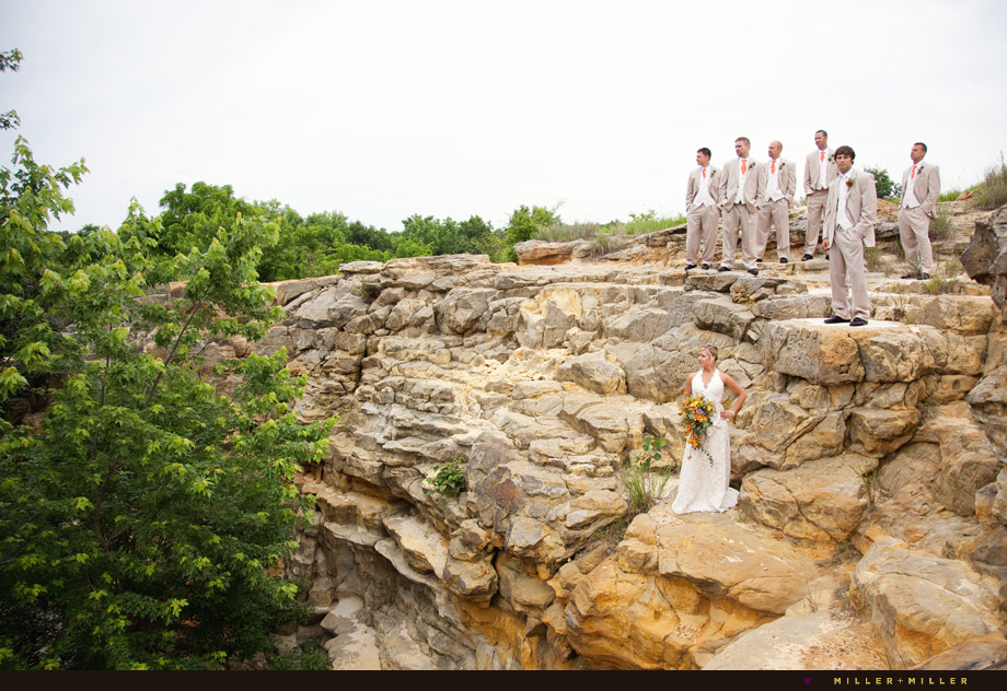 starved rock canyon wedding photography