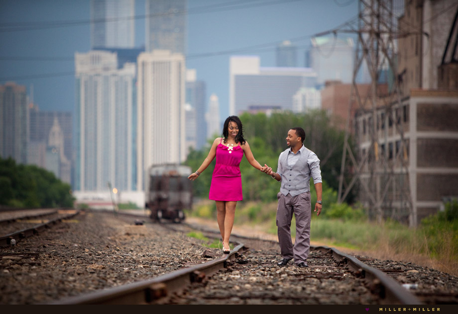 urban engagement photography