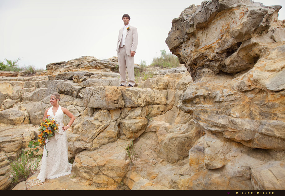 wedding at starved rock ottawa utica