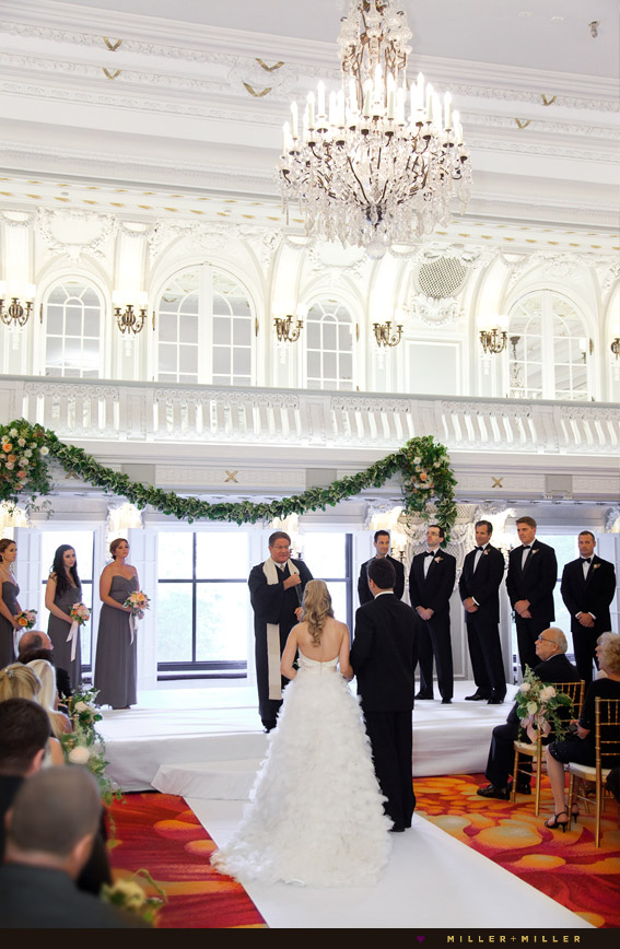 blackstone hotel ballroom ceremony