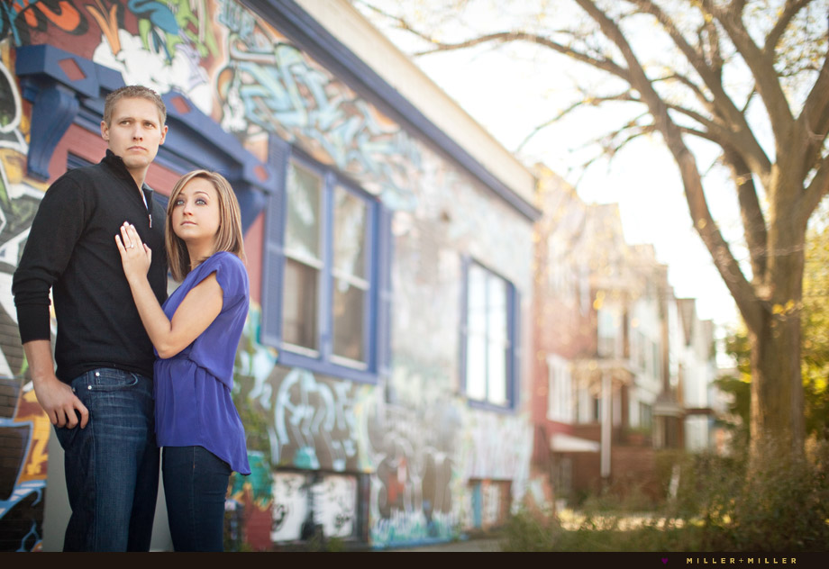 graffiti chicago engagement