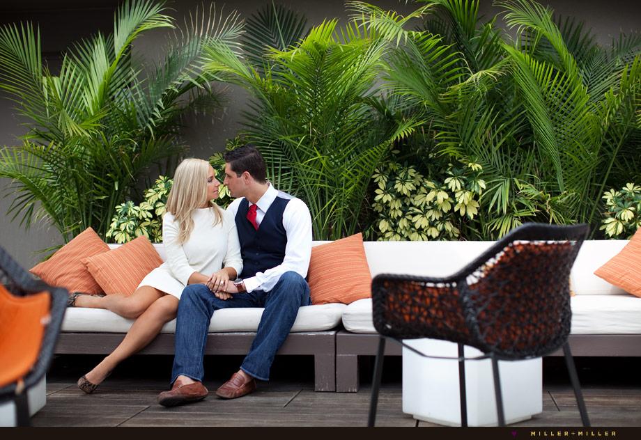 epic restaurant rooftop wedding photos