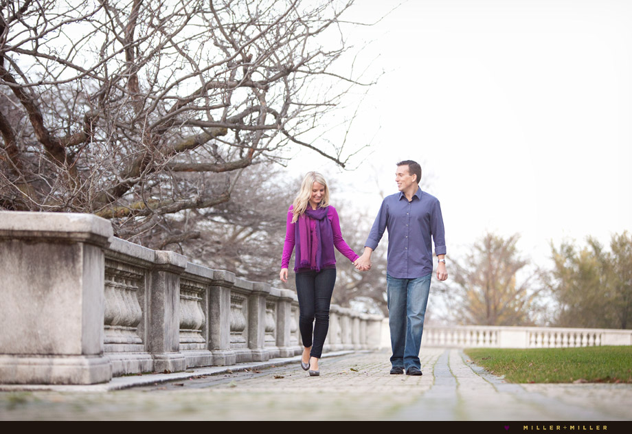grant park engagement photographs