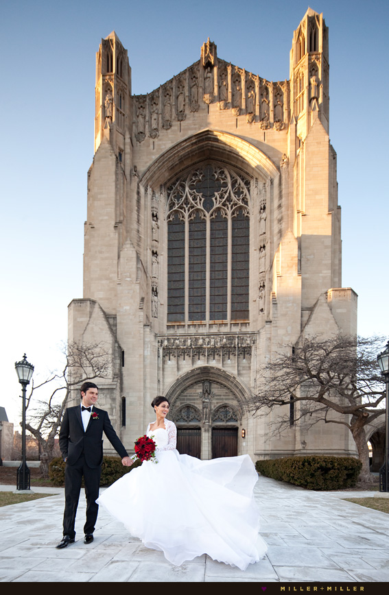 Rockefeller memorial chapel University of Chicago wedding