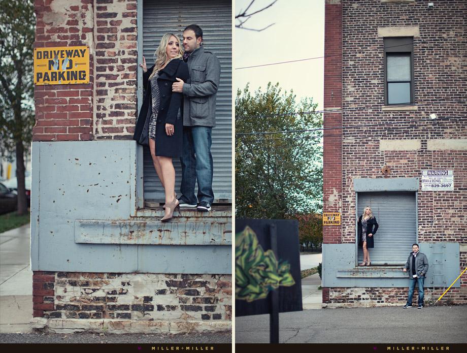 unique urban engagement photography