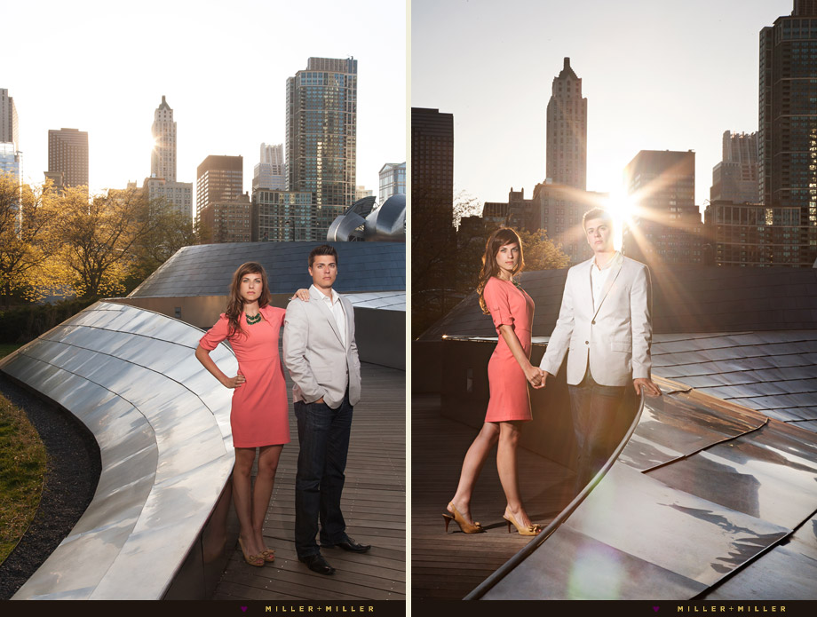 fashion styled chicago engagement photographer