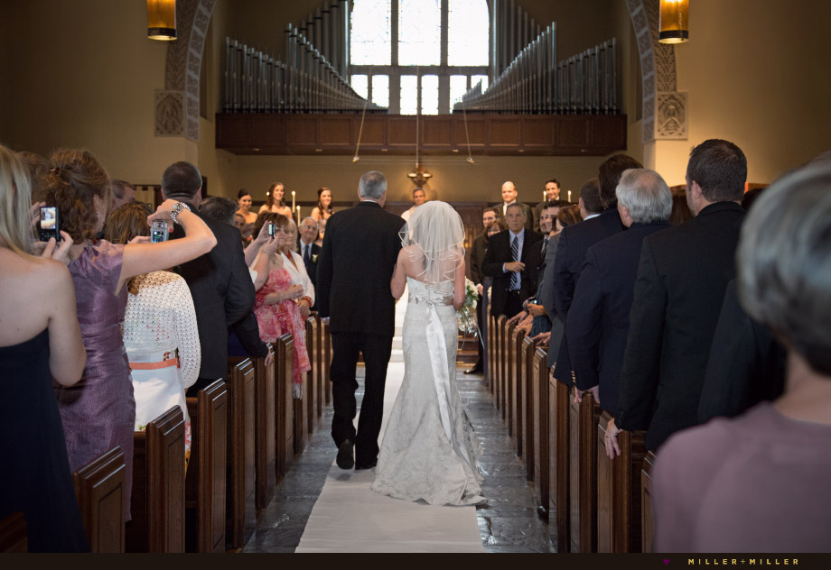 father walking dad daughter church aisle