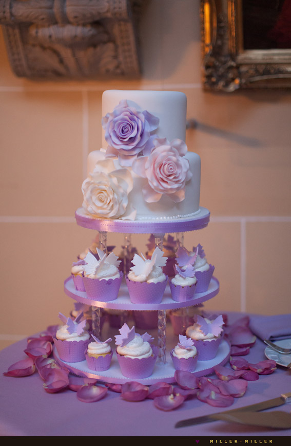 oak mill bakery cake purple butterfly cupcakes