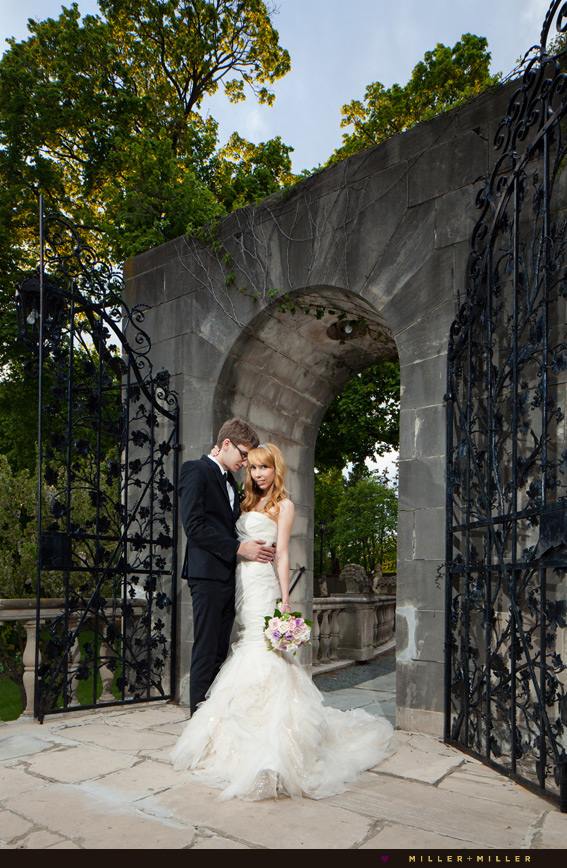 villa terrace art museum wedding