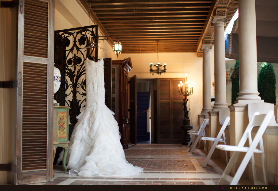 villa terrace museum wedding