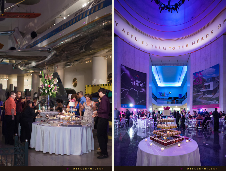 Great Wedding Venue Near Chicago: Jonathan + Vera's Museum Of Science And Industry Wedding